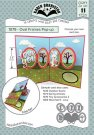 Karen Burniston Dies - Oval Frames Pop-Up