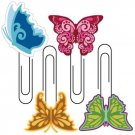 KI Memories Bloom Softies - Butterfly Clips (4 pack)