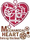 Stamperia 15x20cm Stencil - Mechanical Heart