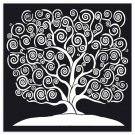 Stamperia 30x30cm Thick Stencil - Tree of life