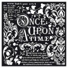 Stamperia 30x30cm Thick Stencil - Once upon a time