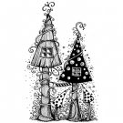 Lavinia Stamps Clear Stamps - Fairy House