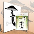 Lavinia Stamps Clear Stamps - Forest Mushroom (Miniature)