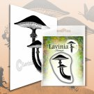 Lavinia Stamps Clear Stamps - Forest Mushroom