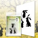 Lavinia Stamps Clear Stamps - Wild Hares Set (small)