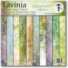 "Lavinia Stamps 8""x8"" Dreamscape Papers - The Colourburst Collection (30 sheets)"