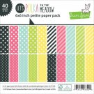 "Lawn Fawn 6""x6"" Petite Paper Pack - Lets Polka In The Meadow (40 sheets)"