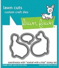 Lawn Cuts Custom Craft Dies - Sealed With A Kiss