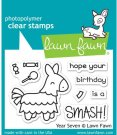 Lawn Fawn Clear Stamp Set - Year Seven