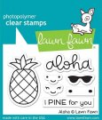 Lawn Fawn Clear Stamp Set - Aloha