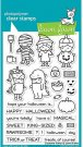 Lawn Fawn Clear Stamp Set - Costume Party