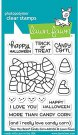 Lawn Fawn Clear Stamp Set - How You Bean? Candy Corn add-on