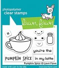 Lawn Fawn Clear Stamp Set - Pumpkin Spice