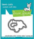 Lawn Cuts Custom Craft Dies - Winter Otter