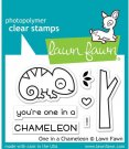 Lawn Fawn One in a Chameleon Clear Stamps