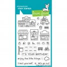 Lawn Fawn Clear Stamp Set - Village Shops