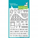 Lawn Fawn Clear Stamp Set - Coaster Critters