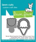 Lawn Cuts Custom Craft Dies - Reveal Wheel Sweetest Flavor