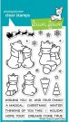 Lawn Fawn Clear Stamp Set - Winter Skies