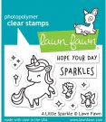 Lawn Fawn Clear Stamp Set - A Little Sparkle
