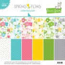 "Lawn Fawn 12""x12"" Collection Pack - Spring Fling (12 sheets)"