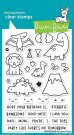 Lawn Fawn Clear Stamp Set - Rawrsome