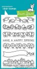 Lawn Fawn Clear Stamp Set - Simply Celebrate Spring