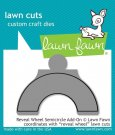 Lawn Cuts Custom Craft Dies - Reveal Wheel Semicircle Add-on