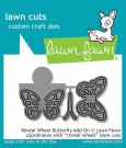 Lawn Cuts Custom Craft Dies - Reveal Wheel Butterfly Add-on