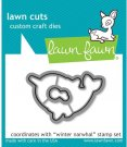 Lawn Cuts Custom Craft Dies - Winter Narwhal