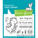 Lawn Fawn Clear Stamp Set - Little Dragon