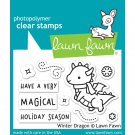 Lawn Fawn Clear Stamps - Winter Dragon