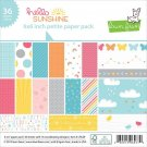 "Lawn Fawn Petite 6""x6"" Paper Pack - Hello Sunshine (36 sheets)"