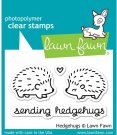 Lawn Fawn Clear Stamp Set - Hedgehugs