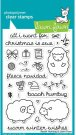 Lawn Fawn Clear Stamp Set - Baaah Humbug