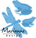 Marianne Design Creatables - Tinys Frogs and Dragonfly