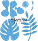 Marianne Design Creatables - Hibiscus & Tropical Leaves