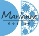 Marianne Design Creatables - Anja`s Flower Demi Circle