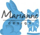 Marianne Design Creatables - Easter Bunny with Bow