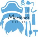Marianne Design Creatables - Kim's Buddies Pirate