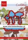 Marianne Design Creatables - Tinys Mushrooms (LR0623)