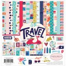 "Carta Bella 12""x12"" Collection Kit - Let's Travel (13 sheets)"