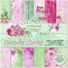 "Lemoncraft 12""x12"" Paper Collection - Everyday Spring (6 papers)"
