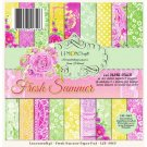 "Lemoncraft 6""x6"" Paper Stack - Fresh Summer (36 papers)"