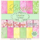 "Lemoncraft 12""x12"" Basic Paper Collection - Fresh Summer (12 papers)"