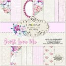 "Lemoncraft 12""x12"" Paper Collection - Just Love Me (6 papers)"