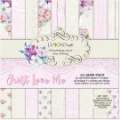 "Lemoncraft 6""x6"" Paper Stack - Just Love Me (36 papers)"