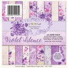 "Lemoncraft 6""x6"" Paper Stack - Violet Silence (36 papers)"