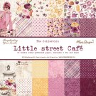 Maja Design 12x12 Papper Hel Kollektion -  Little Street Café (12 ark)