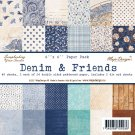 Maja Design - 6 x 6 Denim & Friends (48 sheets)